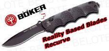 Boker Plus RBB Recurve Folder Plain Edge 01BO055 *NEW*