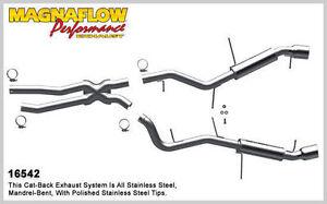 2009-2010 BMW 335i xDrive L6 3.0L Sedan Dual Magnaflow Cat-Back Exhaust System