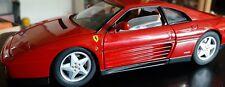 MATTEL/Hotwheels ELITE Ferrari 348 tb  Berlinetta  1:18 / Red