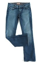 PAIGE Womens Benedict Canyon Jeans Low Rise Bootcut Mid Blue Size 26 VGC