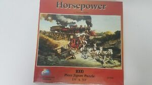 NEW - Horsepower By Werner Willis Jigsaw Puzzle 1000 Piece SunsOut 21560