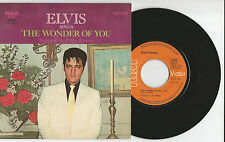 """Elvis PRESLEY """"the Wonder Of You/mamma piace The Roses"""" French 7"""" single 1970"""