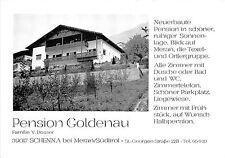 BG22348 Pension Hotel Goldenau Schenna bei Meran MERANO Italien CPSM 14.5x9cm