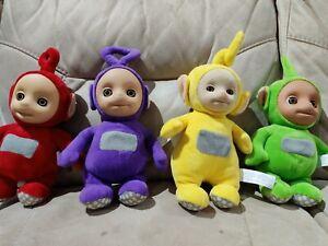 "10"" Talking Teletubbies Soft Toy Plush Bundle"