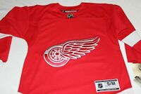 NWT NHL Larkin Detroit Red Wing Reebok Stitched Jersey Youth Size Medium