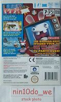 RAYMAN RAVING RABBIDS TV PARTY (WiI) & U= **NEW and SEALED** FAST POST