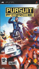 PURSUIT FORCE for PSP - with box and manual