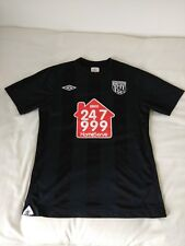 West Bromwich Albion Umbro 2010 Away Shirt UK Small Excellent Clean Condition