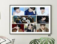 BTS Poster Collage Jungkook Suga J-Hope V Jin Jimin RM Bangtan Boys KPOP Photos