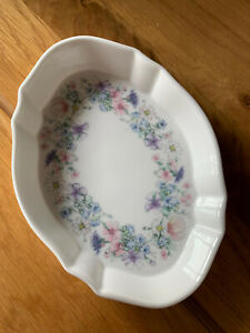 Wedgewood angela China trinket dish And bud Vase - excellent condition