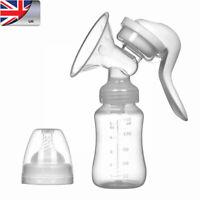 Baby Breast Pump Milk Bottle Hand Breastfeeding Suction Feeding Collect Tool WAN
