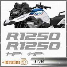 4pz Adesivi Graphite compatibile con Moto R 1250 GS HP R1250 ADVENTURE R1250GS