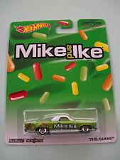 Hot Wheels Just Born MIKE AND IKE '71 EL CAMINO Real RidersMetal/Metal NIP 2013