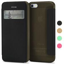 Book Case für Apple iPhone 5S / iPhone 5 Schutz Hülle Handy Tasche Booklet Etui