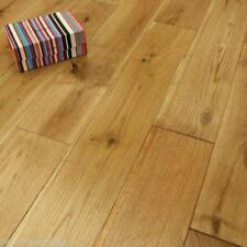 Solid Oak 18mm x 150mm Hardwood Flooring Rustic Wood Real  Brushed & Oiled