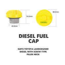 Toyota Landcruiser Diesel Non Locking Fuel Cap Screw Type Thread 111D