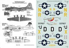 SUPERSCALE DECALS 1/72 B-17G Flying Fortress 100th BG 851st BS 490th BG (USAAF)