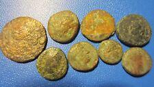Lot grieschische pièces de monnaie 8 STÜCK indéterminé (18p15)