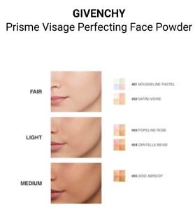 GIVENCHY PRISME VISAGE Silky Face Powder, CHOOSE SHADE:1,2,3,4,5, NEW TSTR