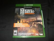 Replacement Case (NO GAME) STATE OF DECAY YEAR ONE SURVIVAL  MICROSOFT XBOX ONE