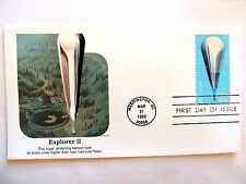 """March 31st, 1983 """"Explorer II"""" First Day Issue"""
