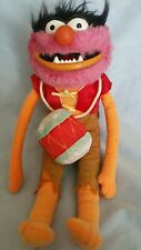 "Muppets Plush Toy ""Animal"" With Drum 12 Inch-EUC"