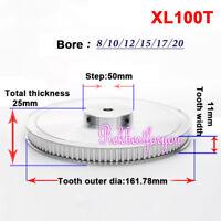 MXL100T Timing Belt Pulley Gear Wheel Sprocket 8//10//12mm Bore For 3D Printer
