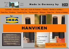 Lackstift für IKEA HANVIKEN schwarz-braun