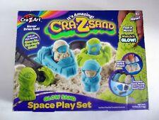 Cra Z Sand Space Play Set Glow Sand New