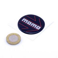 Momo Steering Wheel Horn Badge Insert Domed Gel STICKER 45mm Custom Sizes Made