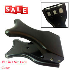 Durable 3in 1 Sim Card Cutter for Mobile Phone Sim/Micro Sim/Nano Sim Simple Use