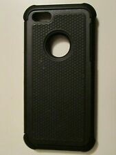 Iphone 5/5c case Shockproof Black Dual layer Rubber matte