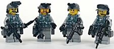 Navy Seal Team 6 Squad Military Minifigures made with real LEGO(R) parts
