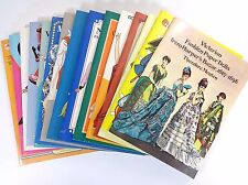 Lot (15) PAPER DOLL Books: Bugs Bunny Thirties Belle Victorian Fashion Leigh +