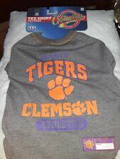 "New listing Clemson Tigers Pet T-Shirt Size Medium 14""-18"" Dog"