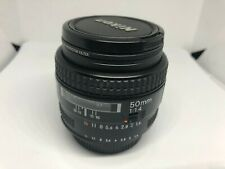 Nikon AF NIKKOR 50mm 1:1.4 Lens +Cameron PRO 52mm MC Protection Filter