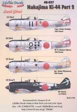 Lifelike Decals 1/48 NAKAJIMA Ki-44 SHOKI TOJO Fighter Part 2
