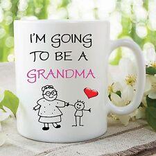 Funny Novelty Mug I'm Going To Be A Grandma Nana Baby Ceramic Cup Gift WSDMUG72