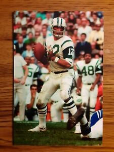Joe Namath New York Jets Nfl Football 4x6 Game Photo Picture Card