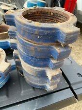 """Fmc Weco 4"""" Hammer Union Fig 200/206 Threaded Standard 2000 Cwp - Never Used"""