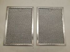 (Set of 2) New OEM Whirlpool WP58001087 Microwave Grease Filter