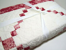 Pottery Barn Multi Color Creamy Andover Patchwork King Cal King Quilt New