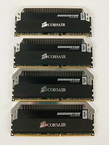 Ships Today☑️ CORSAIR Dominator PLATINUM 16GB (4x4GB) 1600MHz DDR3 PC3-12800