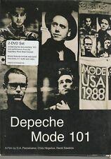 DVD DEPECHE MODE - Depeche Mode 101 - 2 DVD + Livret ( 2003 )