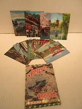 16 Different Unused Japanese Postcards Views Of Japan Nikko White Heron Castle