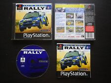 COLIN MCRAE RALLY : JEU PLAYSTATION PS1 PS2 (Codemasters COMPLET envoi suivi)