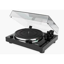 THORENS TD202 Plattenspieler record-player Schwarz black mit Vorverstärker + USB
