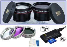 7-Pc Super Saving HD Accessory Kit for Olympus E-PL2 EPL2 E-PL3 EPL3