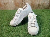 Adidas Superstar Ortholite White Girls Women's Trainers Size UK 3.5 EUR 36