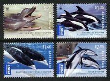 MINT 2009 DOLPHINS OF AUSTRALIA WWF STAMP SET